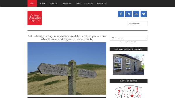 Northumberland Holiday Cottage Let
