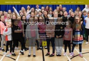 Thrapston web design