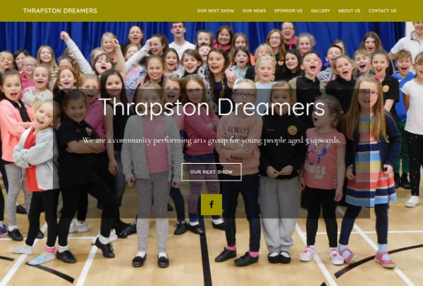 Thrapston website