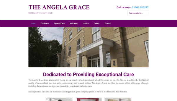 The Angela Grace care home Northampton