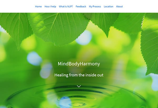 NLP for women website