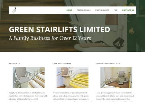 Green Stairlifts Peterborough