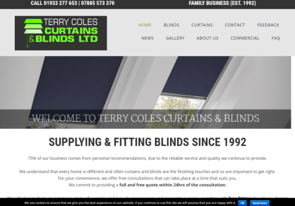 Terry Coles Curtains and Blinds