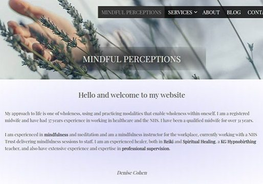 Mindfulness Web Design Enfield