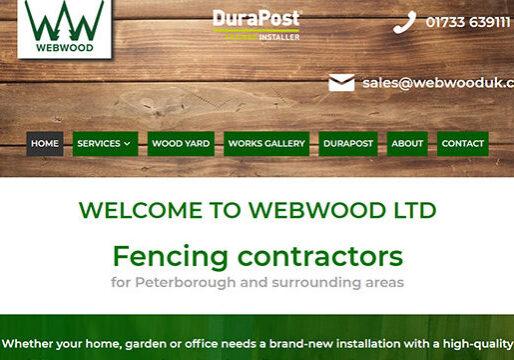 Fencing contractor web design