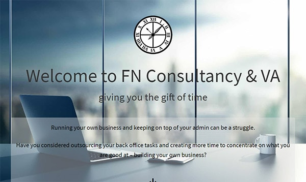 FN Consultancy & VA website