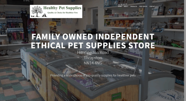 Healthy Pet Supplies Thrapston