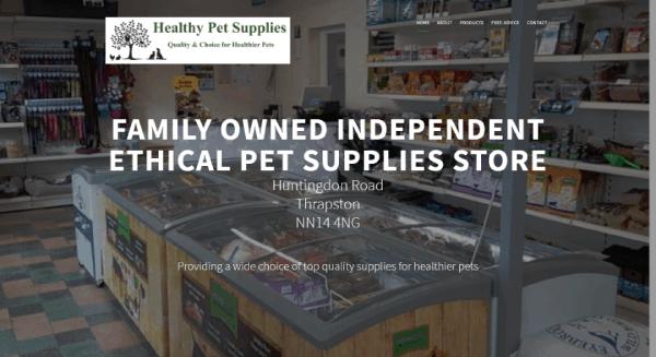 Healthy Pet Supplies Thrapston