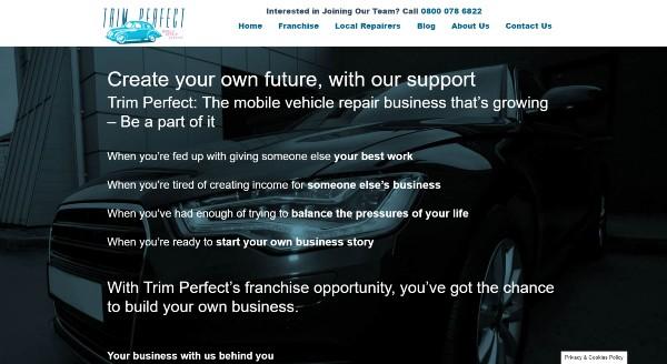 Franchise website